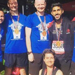 Warrington half marathon and 10K