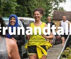 Promoting good mental health through running