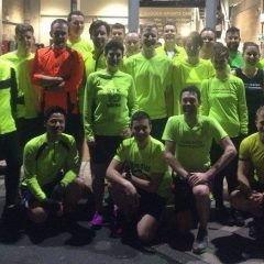Thursday night's #runandtalk a success