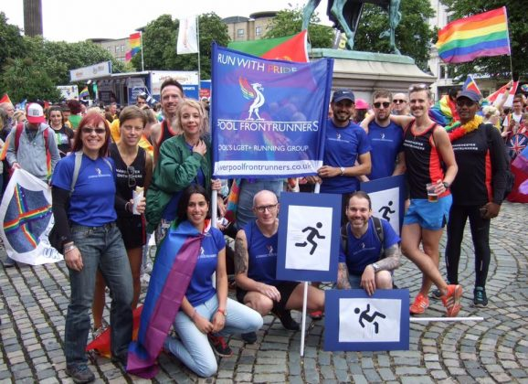 Manchester Frontrunners goes to Liverpool Pride